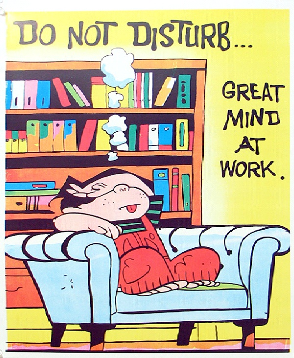 Great Minds Think Alike-12 Funniest Do Not Disturb Signs