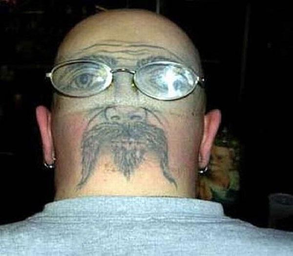 The face?-Creative Tattoos