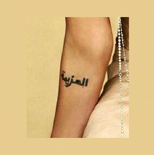 Strength Of Will-Angelina Jolie And Her Tattoos