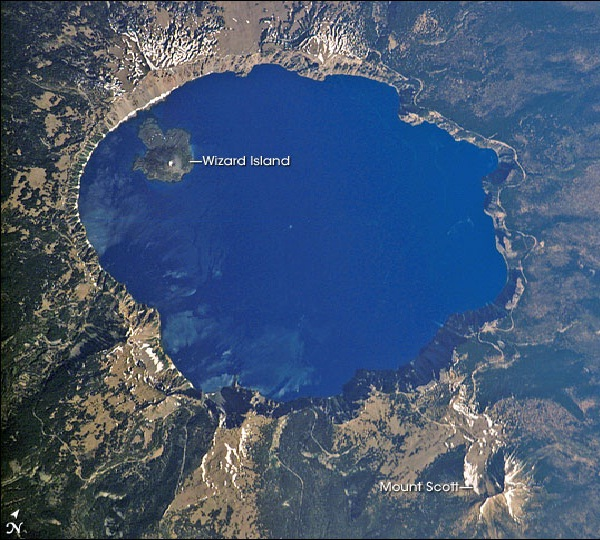 Crater Lake, Oregon-Most Amazing Lakes On Earth