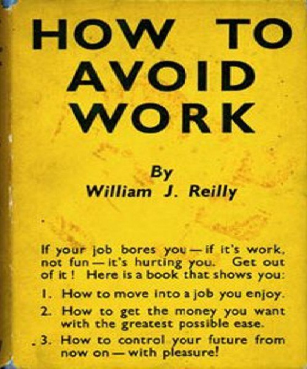Get Out of Work-Strangest How-to Books