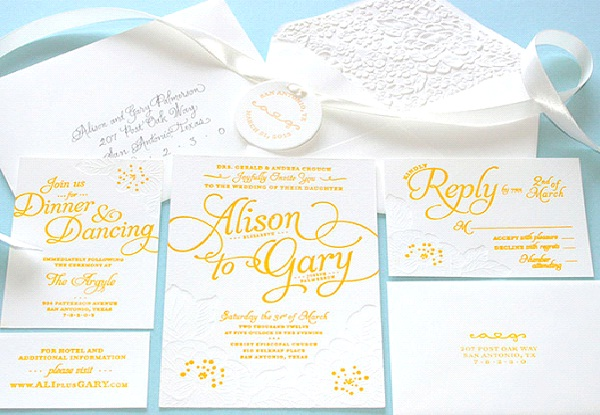 Send Out Wedding Invitations-Marriage Checklist