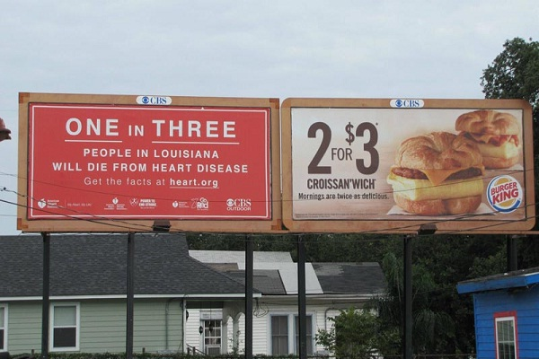 A bit heart less-Unexpectedly Hijacked Billboards