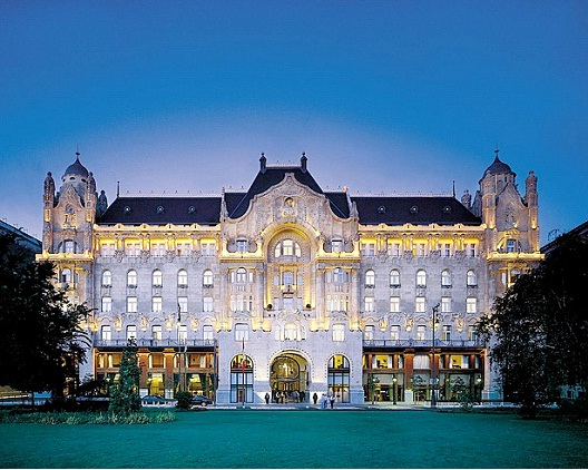 Gresham Palace - Budapest, Hungary-Most Beautiful Architectural Structures In The World