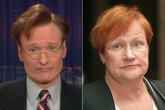 Looking like the Finnish President-Funniest Conan O'Brien Moments