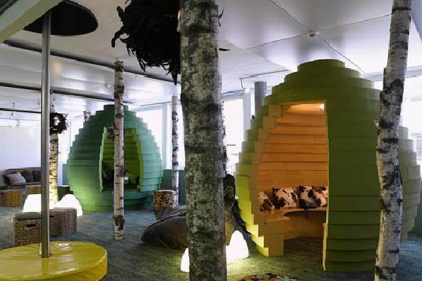 The hive-Coolest Cubicles And Work Spaces