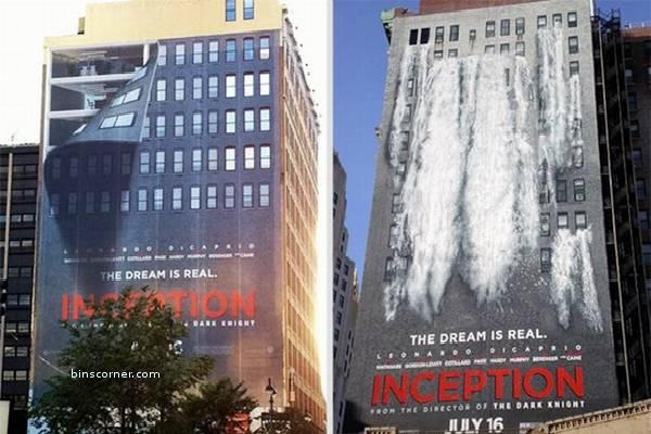 Movie effects-Creative Ads On Buildings