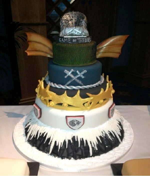 Game Of Thrones-Most Geeky Cakes