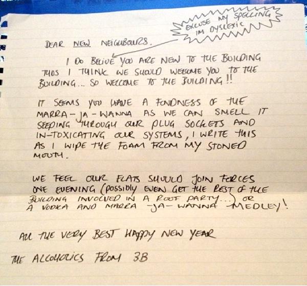 MARA JA WANNA-Absolutely Hilarious Elevator Notes