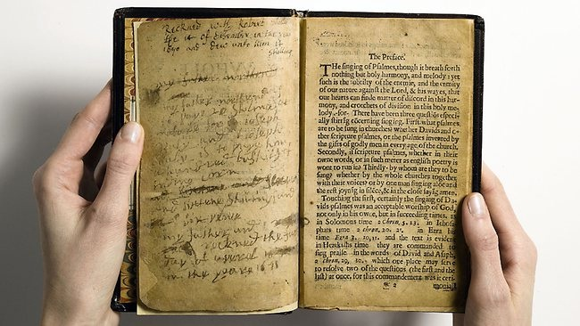 The Bay Pslam Book-Unusual Facts About Famous Books And Authors