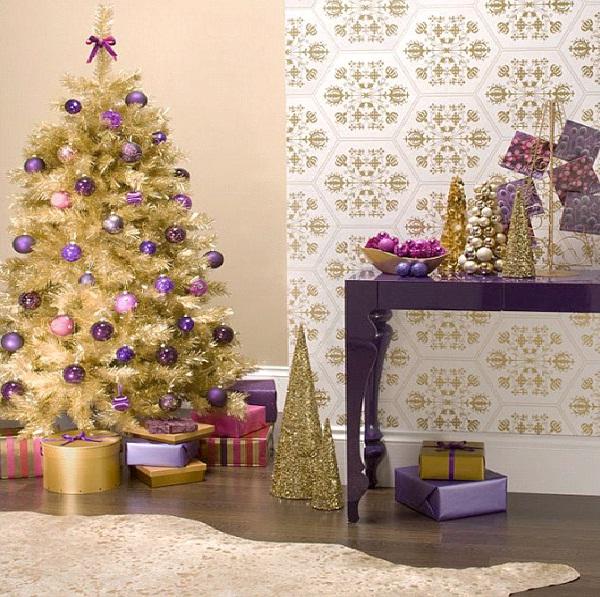 Purpl-Christmas Decoration Ideas