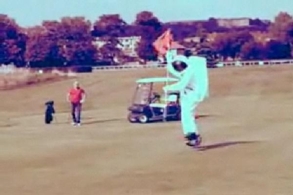 Astronaut Golf-Best Prank Videos Ever