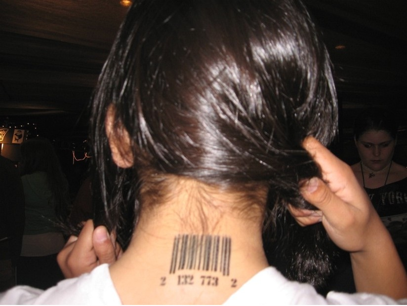 Back of neck-The Best Place To Get Tattooed