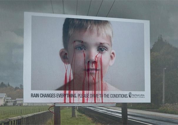 Emotional-Brilliantly Clever Billboard Ads