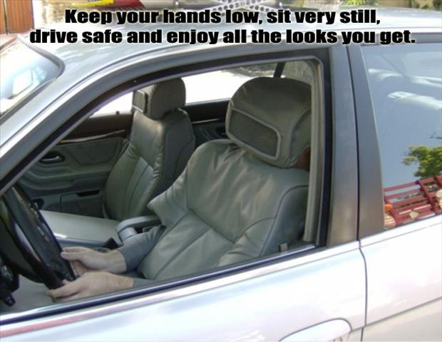Invisible driver-Best Pranks Ever