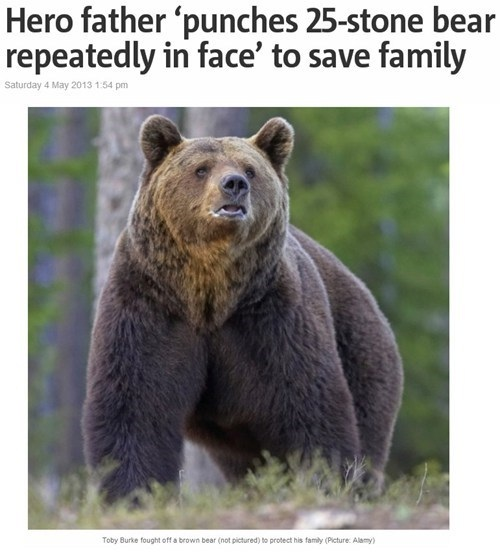 Repel the bear!!!-Epic Parenting Wins