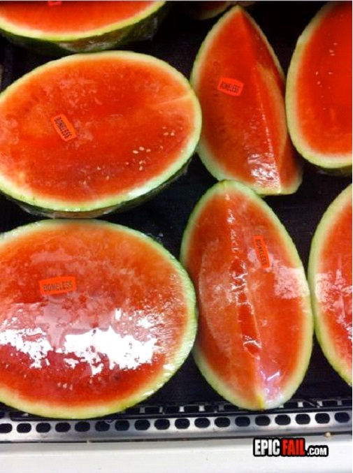 Boneless Watermelon-Best Supermarket Fails