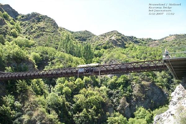 Kawarau Gorge Suspension Bridge - New Zealand-Most Extreme Bridges Around The World