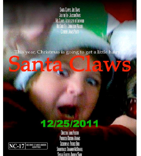 santa claws best christmas horror movies ever - Best Christmas Horror Movies