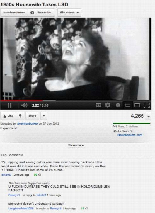 1950's Housewife Takes LSD-Most Hilarious YouTube Comments