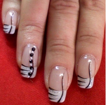 Free-Hand Work-Most Creative Nail Art