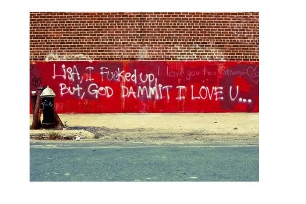Wall apology-Hilarious Public Apologies