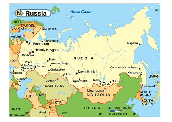 Russian-Most Spoken Languages In The World