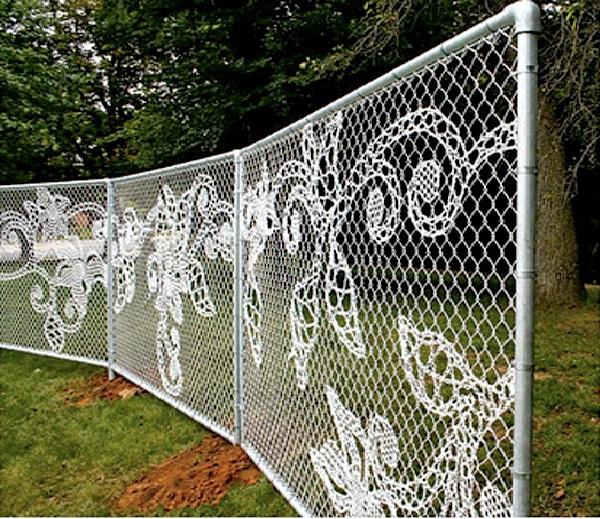 Like lace-Most Creative Fences