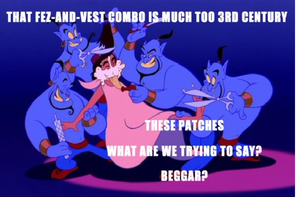 Fashion-12 Funny Quotes Told By Genie From Disney's Aladdin TV Show
