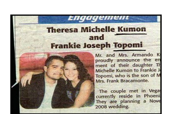 Kumon Topomi-12 Funniest Wedding Last Name Combinations Ever