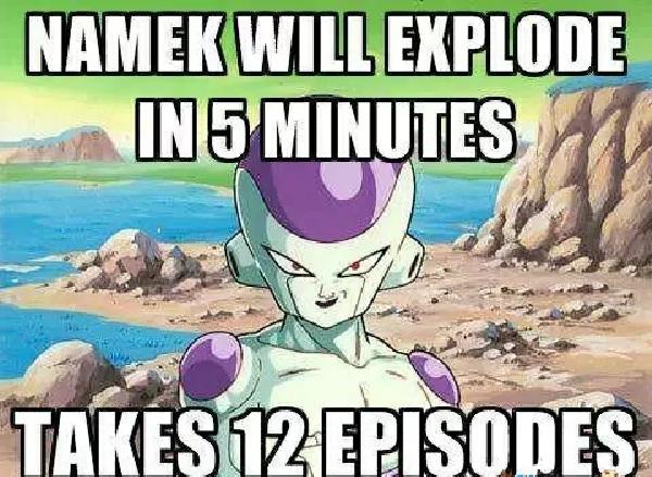Timing?-Worst Dragonball Z Logic