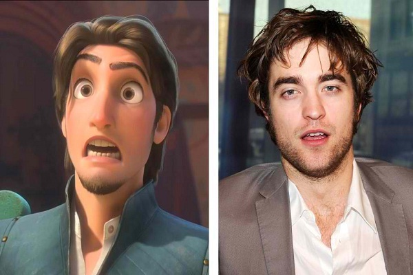 Robert Pattinson-Disney Look A Like Celebrities