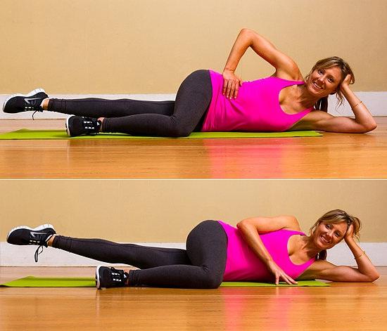 Pilates leg lifts-How To Get A Thigh Gap