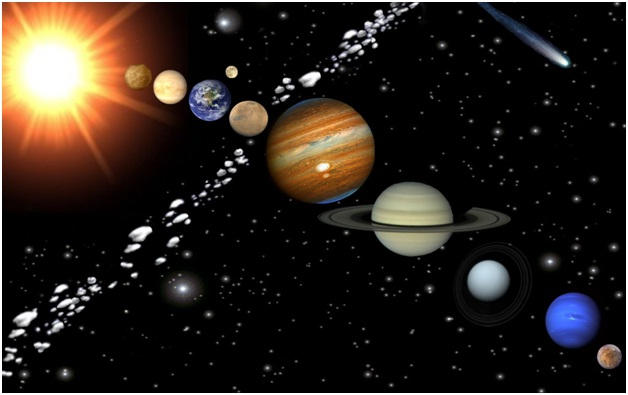 Asteroids between Jupiter and Mars-Amazing Facts About Space You Didn't Know