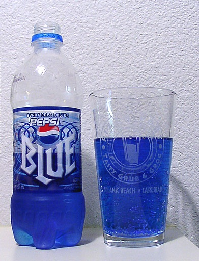 Pepsi Blue-Foods And Beverages Which Only 90s Kids Will Remember