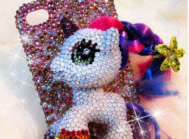 Sparkly pony-More Of Ridiculous IPhone Cases