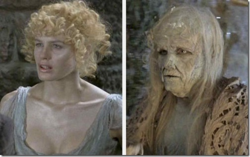 Daryl Hannah-Most Dreadful Makeups
