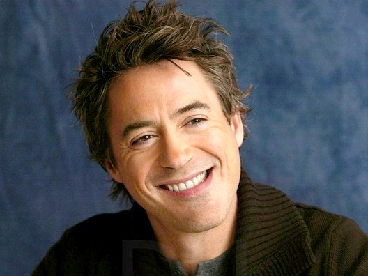 Robert Downey Jr.-Celebrities Who Don't Drink At All