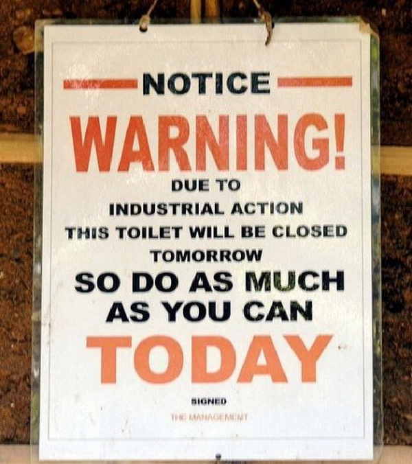 Helpful-Creative And Funny Toilet Signs