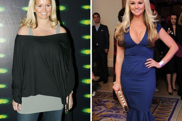 Jennifer Ellison-Celebs Who Lost Weight