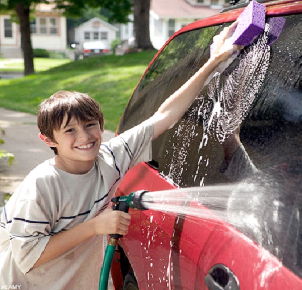 Wash Cars-How To Make Money As A Teen