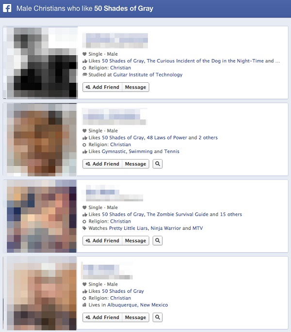That is just so wrong-Funny Facebook Graph Searches