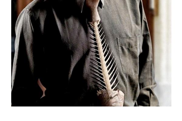 Fishbone Tie-Strangest Ties