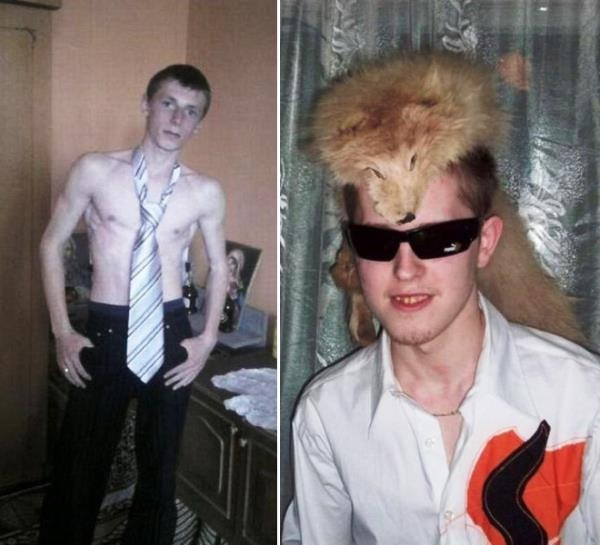 A dead fox on your head-Scary Russian Dating Site Pictures