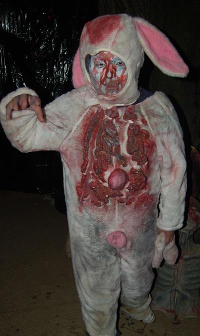 Too bloody-Not So Cute Easter Bunnies