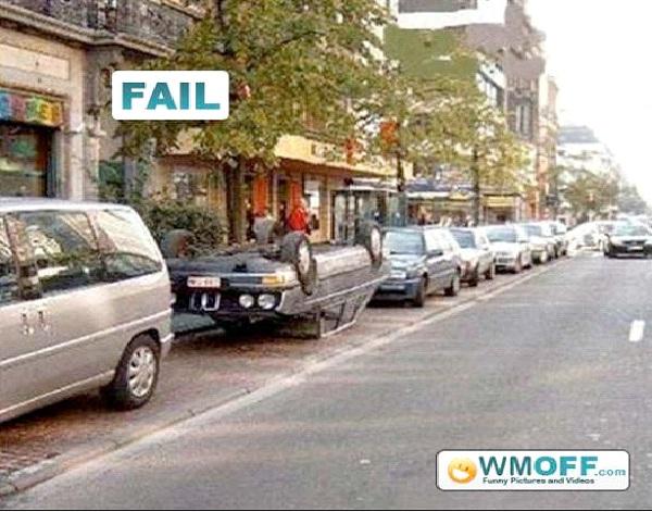 Upside Down-Craziest Parkings Ever