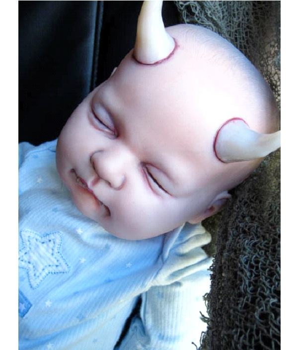 Devil Baby-Creepiest Dolls Ever