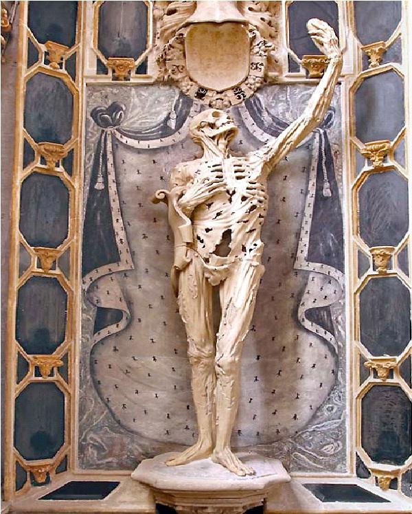 Transi De Rene De Chalon-Bizarre Statues Created From Your Nightmares