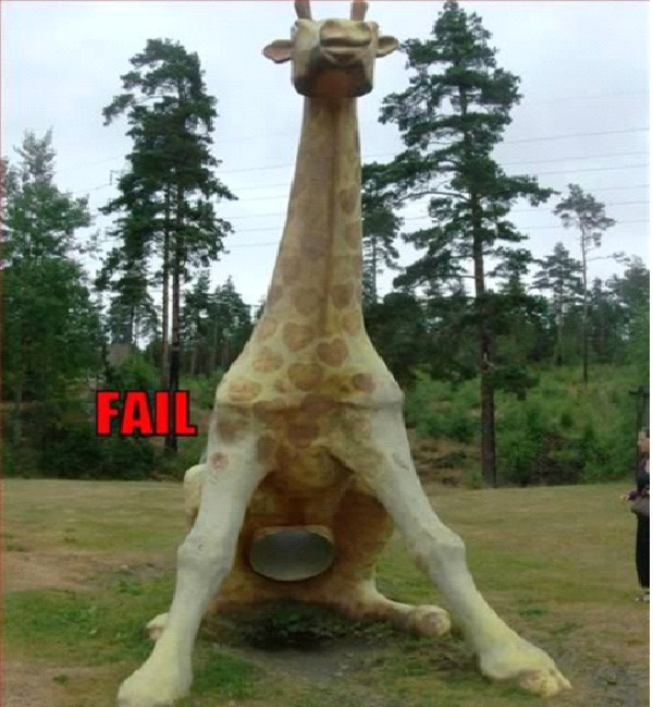 Squatting Giraffe-Most Inappropriate Playgrounds