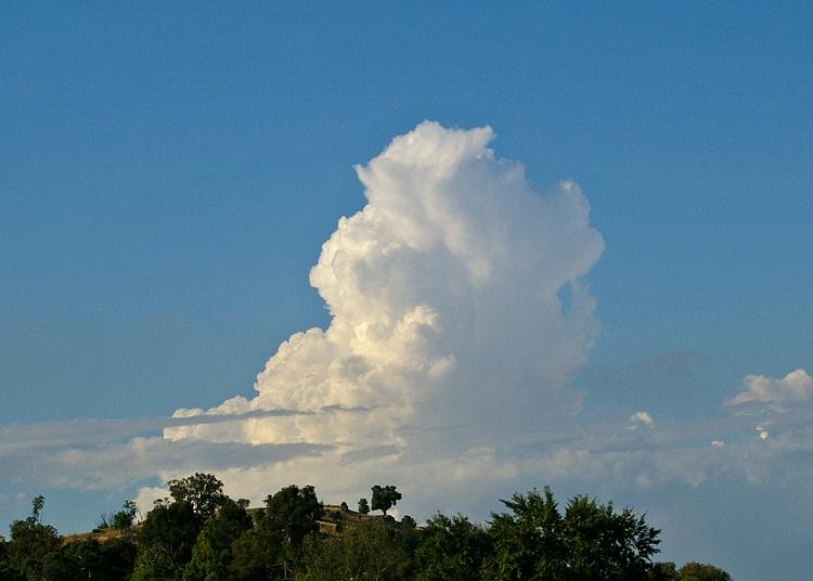 Cumulus Congestus-Different Types Of Clouds